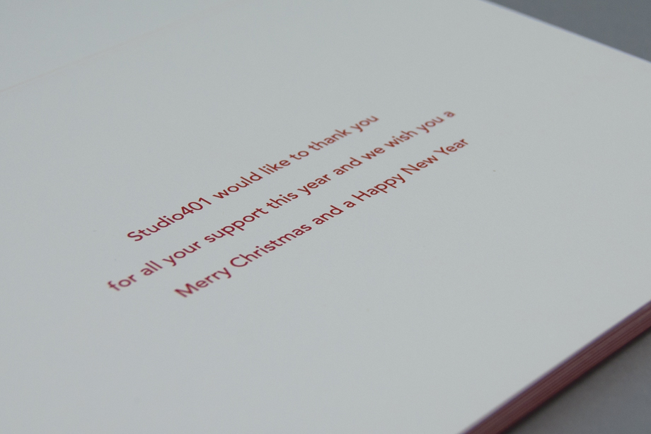 Studio401 Xmas card 4