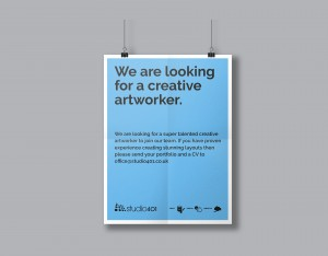 creative artworker poster